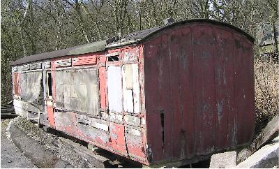 Photograph 801: Carriage on site at Foxfield in 2005