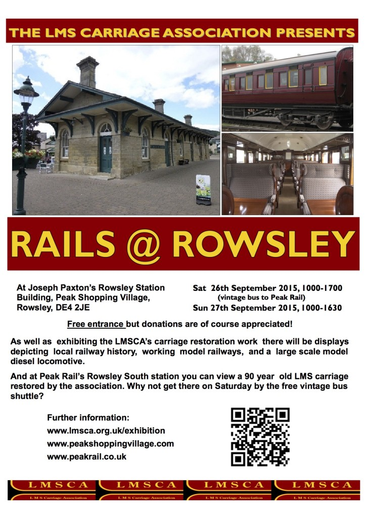 Rails-at-Rowsley-Poster