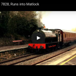 LMS Carriage, 7828, runs into Matlock